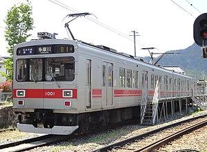 Ueda Electric Railway Bessho Line - Image: Ueda dentetsu 1001 20120505