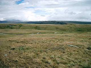Plateu in Altai Mountains
