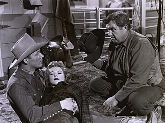 Jane Frazee - Frazee with Roy Rogers and Andy Devine in Under California Stars (1948)