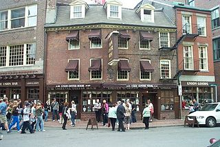 Union Oyster House Restaurant in Boston, operating since 1826. The building is a National Historic Landmark.