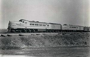 GE steam turbine locomotives - Union Pacific's General Electric steam turbine locomotives, circa April 1939
