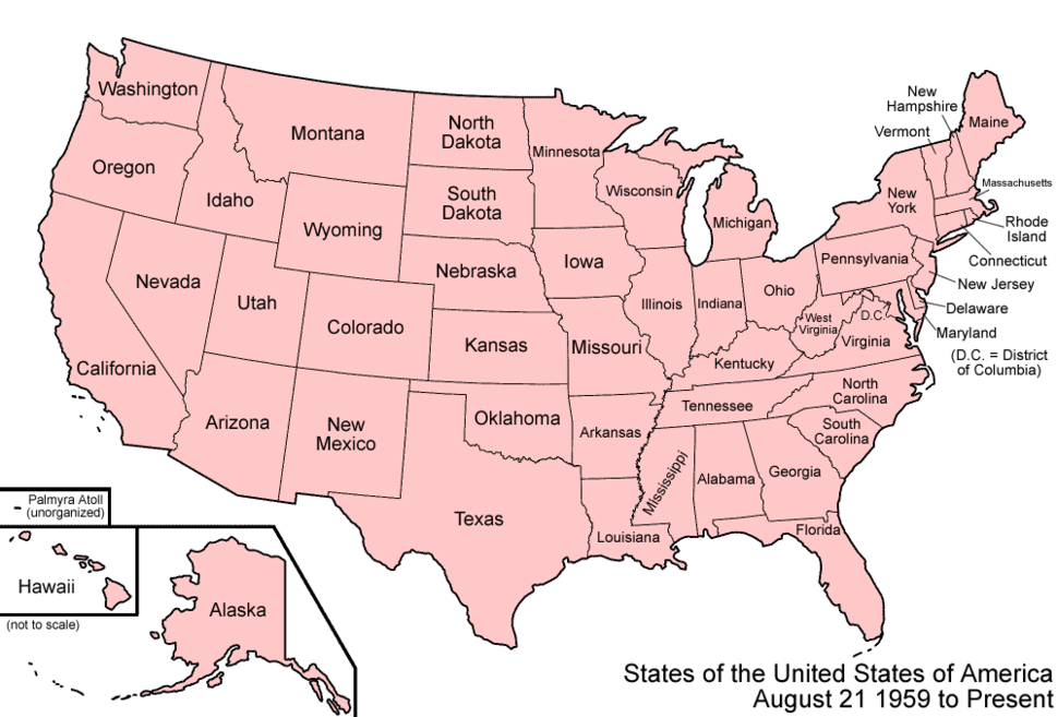 United States 1959-08-present