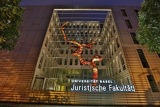 University of Basel - Image: Universitat Basel, Juristische Fakultat