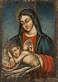 Unknwon armenian painter. Holy Mother Mary with Child Jesus.jpg