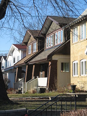 Upper Beaches - Typical houses in the Upper Beaches