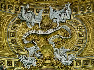 Names of God in Christianity - Image: Ut in nomine Jesu Gesu Rome