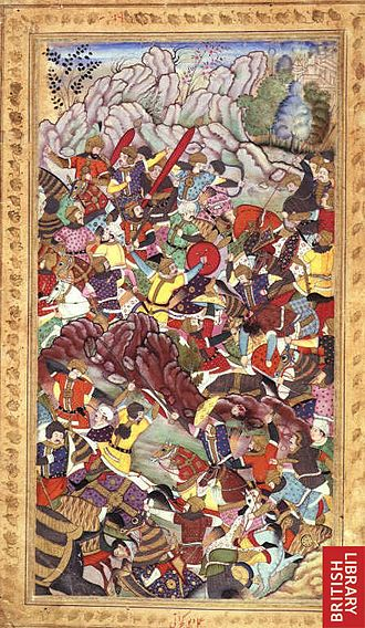 First Battle of Panipat - Chandra