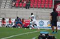 Valais Cup 2013 - OM-FC Porto 13-07-2013 - Alex Sandro et Rod Fanni.jpg