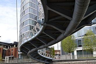 Bristol Temple Quarter Enterprise Zone - Valentine Bridge in Temple Quay