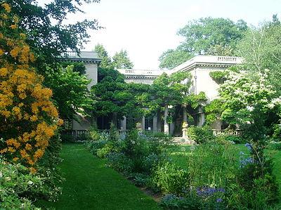 Casa y jardines Van Vleck