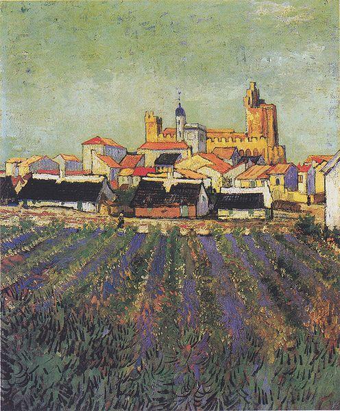 File:Van Gogh - Blick auf Saites-Maries1.jpeg