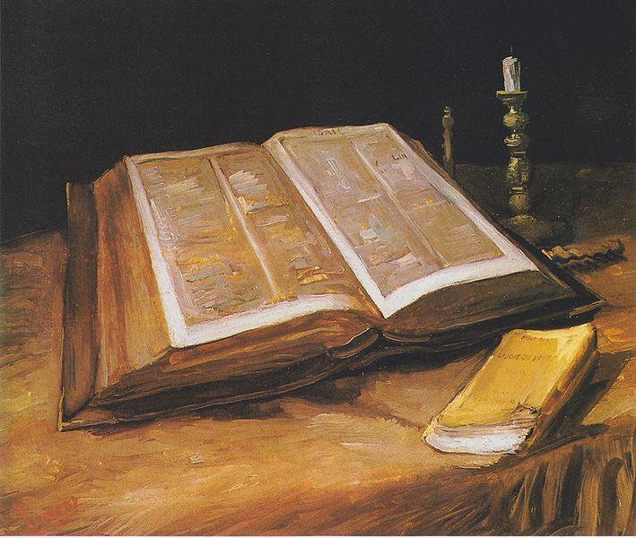 File:Van Gogh - Stillleben mit Bibel.jpeg