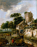 Van Vries, Roelof - Landscape with a Tower - Google Art Project.jpg