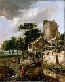 Van Vries, Roelof - Landscape with a Tower - Google Art Project.jpg