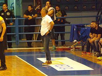 Vangelis Alexandris - Alexandris coaching Iraklis in 2016.