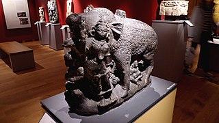 Figure of Varaha, the Boar incarnation of Vishnu