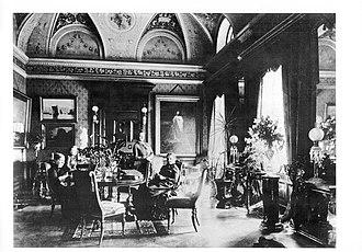 Gustmeyer House - The Adler family, c. 1890