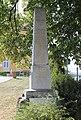 Velešovice, pomník padlým (2017-08-26; 01).jpg