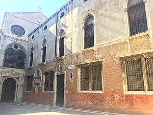 Scuola Grande di San Giovanni Evangelista - Façade of the Scuola Grande.