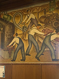 List Of United States Post Office Murals Wikipedia