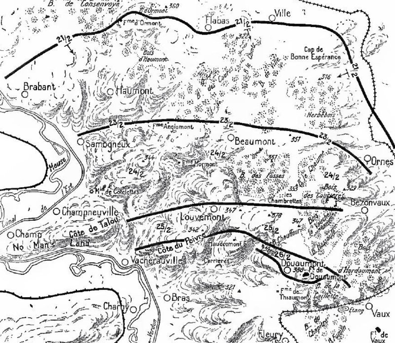 Verdun, east bank, 21-26 February 1916.png