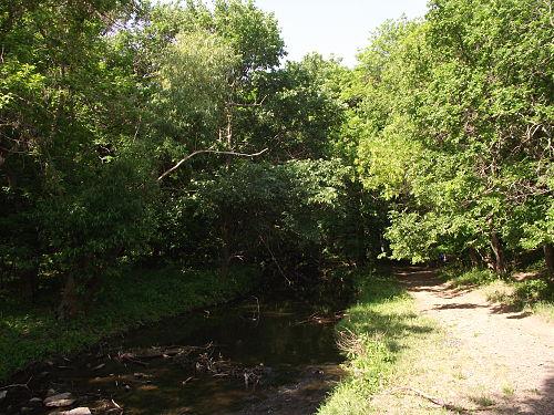 Скалистый уступ по левому берегу р провалье тянется 1,5 км речки и балка относятся к системе р