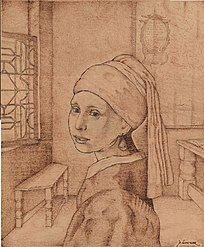 Vermeer girl in the room.JPG