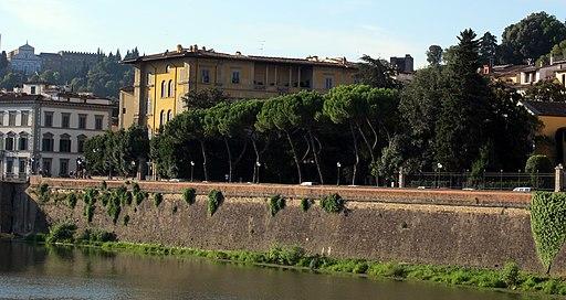 Via de' bardi (mattina), Palazzo del Nero e Piazza Demidoff