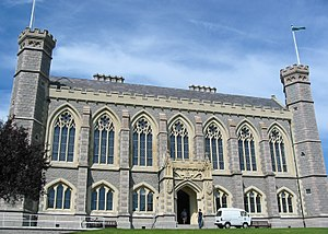 Victoria College, Jersey - Victoria College is an example of Victorian Gothic Revival