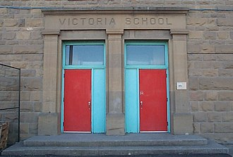 Beltline, Calgary - Victoria School is designated an historic site