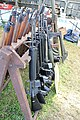 Victory Show Cosby UK 06-09-2015 WW2 re-enactment Trade stalls Militaria personal gear replicas reprod.originals zaphad1 Flickr CCBY2.0 Misc. machine guns weapons etc IMG 3875.jpg