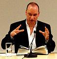 Vienna 2013-04-09 'Hauptbücherei' - Lawrence Norfolk reading from his novel 'John Saturnall's Feast' b.jpg