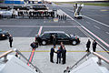 View at Tallinn Airport from atop the steps of Air Force One.jpg