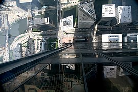 View down from the Sears-Willis Tower Skydeck.jpg