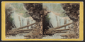 View from Marshall's Falls from below, from Robert N. Dennis collection of stereoscopic views.png