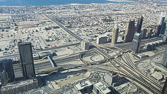 Burj Khalifa - View from the observation deck