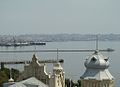 View from the Maiden Tower, Baku, 2008.jpg