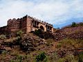 View from the steps to the raisen fort 04.jpg