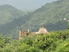 View of Palace and fort of Mahlog State, under Simla Hill States ,Himachal Pradesh,India.jpg