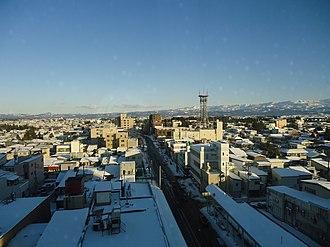 Jōetsu, Niigata - Sunrise over Takada