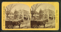 View of homes, and horse-drawn carts, by M. V. B. Greene.png