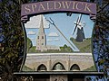 Village sign Spaldwick - geograph.org.uk - 76727.jpg