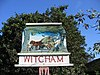 Village sign detail, Witcham, Cambs - geograph.org.uk - 226851.jpg