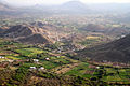 Villages and farms in Aravalli Hills Rajasthan India 2015.jpg