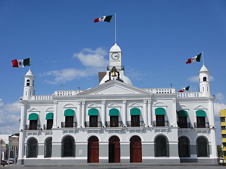 Government Palace of Tabasco in Villahermosa Villahermosa.Palacio de Gobierno 01.JPG