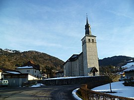 The church in Villard