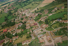 An aerial view of Villers-Saint-Barthélemy