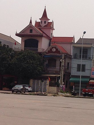 Vinh - Typical architecture