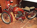 Vintage motorcycle at the Wirral Bus & Tram Show - DSC03278.JPG