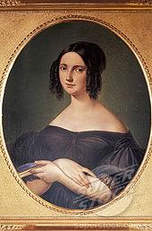 Virginia Vasselli, wife of Gaetano Donizetti, c. 1820 (Source: Wikimedia)